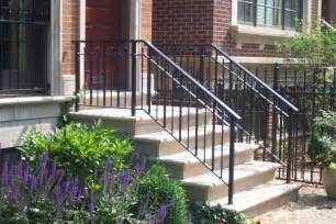 rod iron railing for interior and exterior decorations