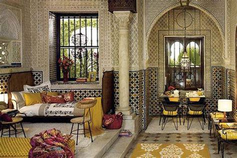 moroccan style home bridging the strait from morocco to modern materials