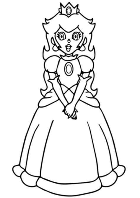 coloring pages mario peach super mario princess peach coloring page free printable