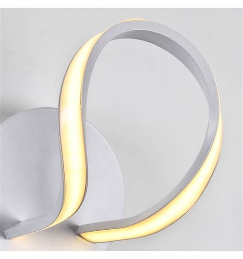 applique moderne a led applique murale moderne 224 led blanc
