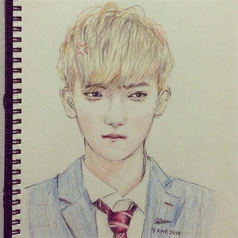 Kpop Sketches by Tao Sketch Kpop Fanart Kpopfanart Kpop Fanart