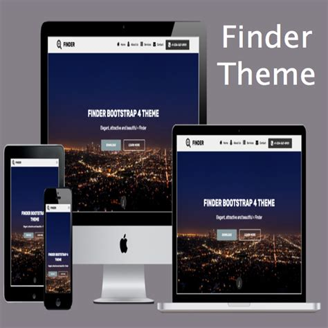 bootstrap themes hack finder bootstrap 4 theme 187 webnots