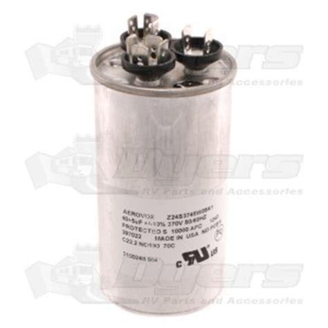 air conditioner parts capacitor dometic a c capacitor 40 5 mfd air conditioner parts air conditioners rv appliances