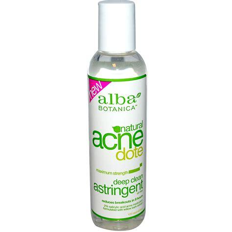 Toner Astringent alba botanica acne dote clean astringent