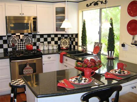 kitchen decor themes ideas decorating themed ideas for kitchens afreakatheart