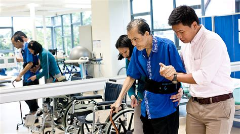 a day in the of a nursing home physiotherapist