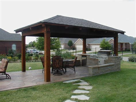 backyard shelter to help protect against the elements many models of