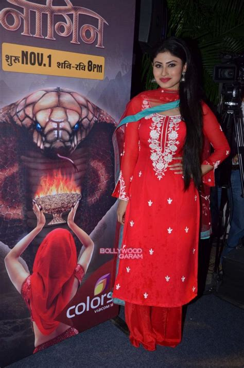 color tv show mouni roy arjun bijlani and adaa khan launch naagin show