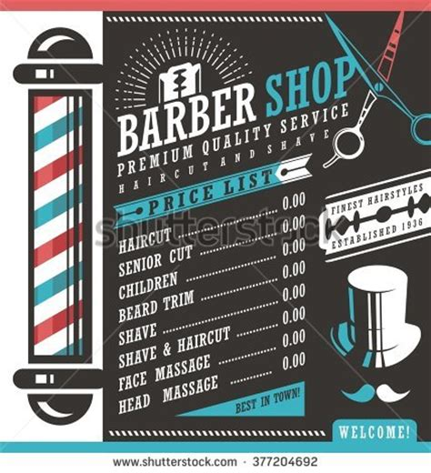 Hair Style Tools Name List by Barbershop Stock Images Royalty Free Images Vectors