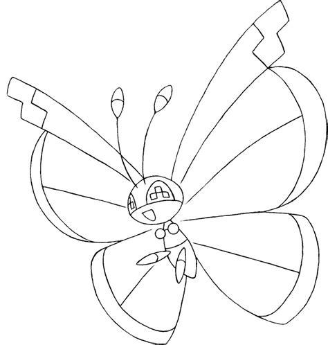 pokemon coloring pages virizion dibujos para colorear pokemon vivillon dibujos pokemon