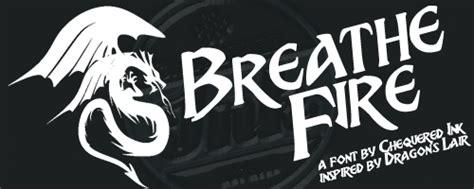 breathe fire font dafont com breathe fire schriftart dafont com