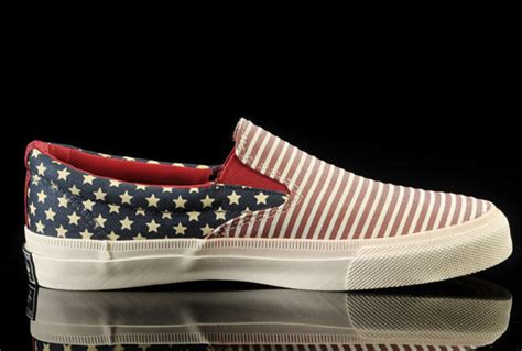 Sepatu Converse All Low Bluepink david beckham wore american flag converse all chuck slip on sneakers low blue