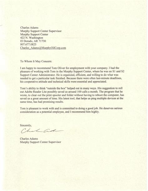7 job reference letter templates free sample example format