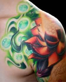 Lotus Flower On Shoulder Shoulder Lotus Vaatete The Best Flower