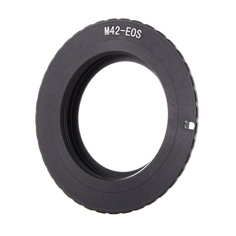 Adapter Ring M 42 Ulir To Canon Eos af confirm aluminum adapter ring for m42 lens to canon eos