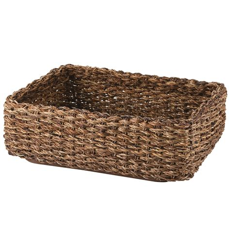 muji baskets stackable bac bac basket rectangular s w36 d26 h12cm