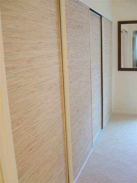 closet door covers covering mirrors with wallpaper to cover wallow mirrors in playroom rather than going through