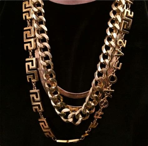 jewels gold versace gold chain gold jewelry necklace