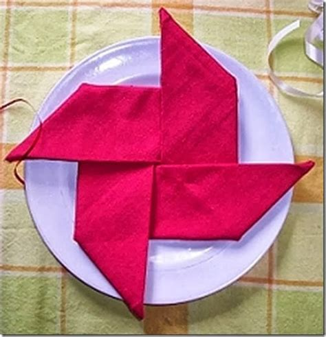 Paper Napkin Folding Styles - 20 plus napkin folding styles page 3 of 5 setting for four