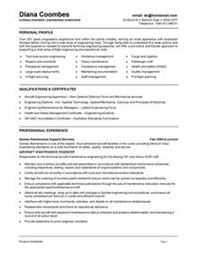 Boeing Mechanical Engineer Sle Resume by Boeing Mechanical Engineer Sle Resume