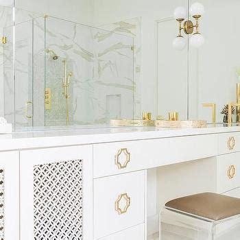 hollywood regency bathroom arched alcove with bay window tub hollywood regency