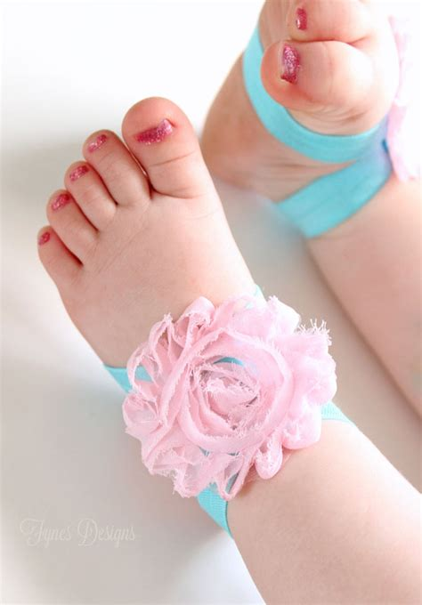 how to make baby barefoot sandals with ribbon diy barefoot baby sandals may arts wholesale ribbon company