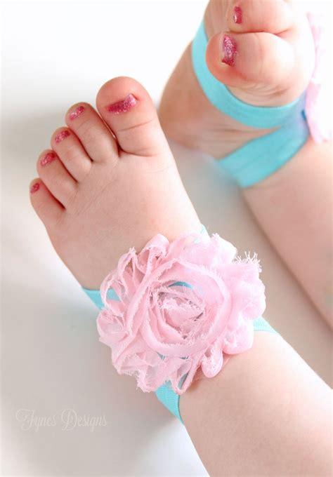 diy barefoot baby sandals may arts wholesale ribbon company
