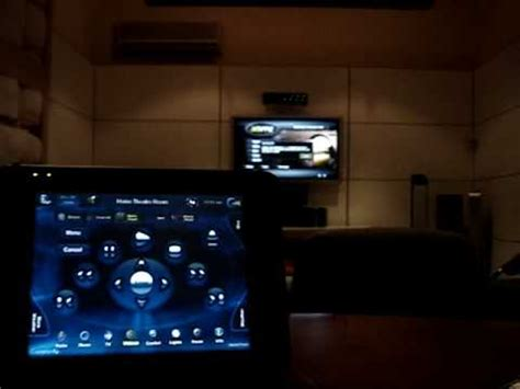 control4 home automation xbmc media center interface