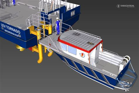 boat landing wind turbine engineering services and consulting innoven marine service