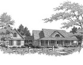 House Plans With Breezeways Country Farmhouse With Breezeway 3611dk 1st Floor Master Suite Cad Available Corner Lot