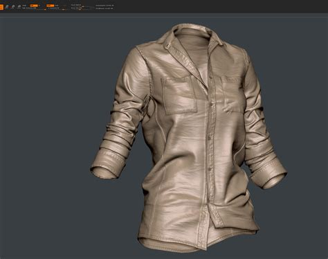 zbrush shirt tutorial the making of re imagined ellie the last of us fanart by