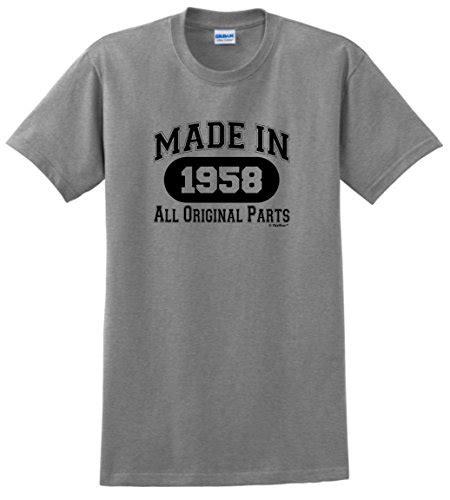 Hoodie Abu Made In 1989 Fashioncloth 60th birthday gift made 1958 all original parts t shirt xl sport grey buy in uae