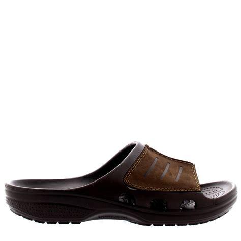 Crocs Platform Slide mens crocs yukon mesa slide summer comfort mules