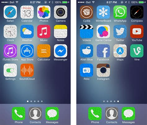 whatsapp winterboard themes best 10 winterboard themes for ios 7 in 2014