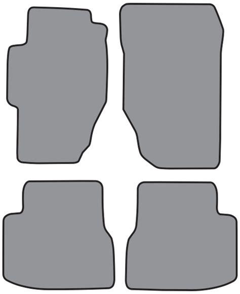 2002 Honda Accord Floor Mats 1998 2002 honda accord 4pc floor mats fits 4dr