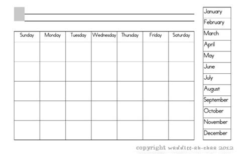 7 best images of days of the week printable calendar