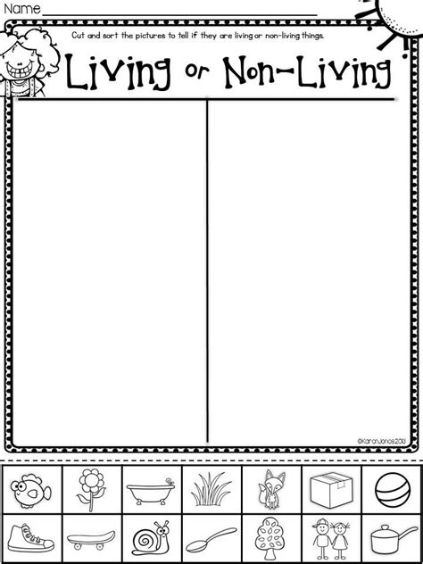 printable worksheets for kindergarten science plants unit plan for k 1 literacy math and plants