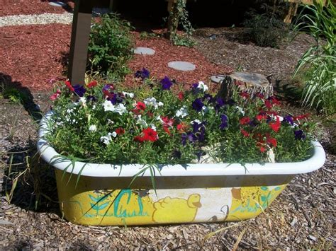 Garden Tubs And Planters by Clever Plant Container Ideas