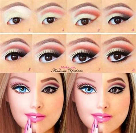 Tutorial Makeup Like Barbie | 15 amazing halloween makeup tutorials that will take your