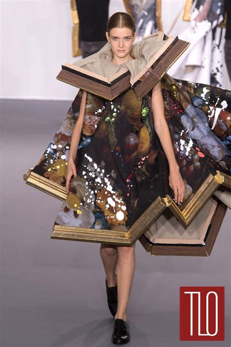 viktor rolf fall  couture collection tom lorenzo