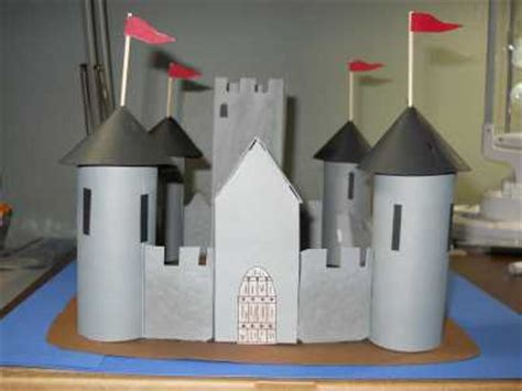 How To Make A Paper Castle - paper mache projects the castle invitations