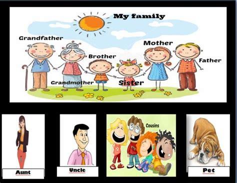 imagenes familia ingles algunos miembros de la familia ideas para las clases de