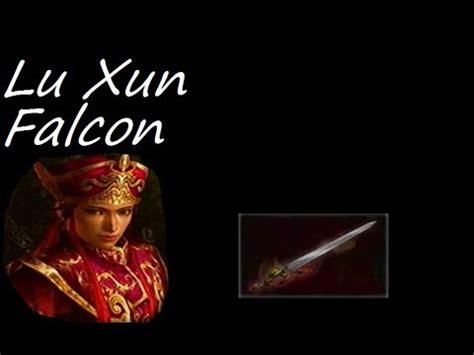 Lu Falcon let s play dynasty warriors 4 89 lu xun level 10 weapon