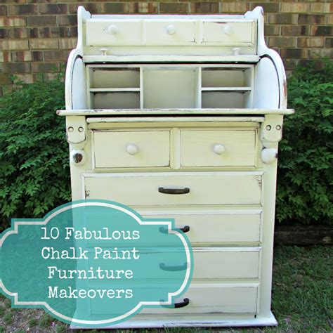 chalk paint ideas before and after 10 fabulous furniture makeovers using chalk paint before