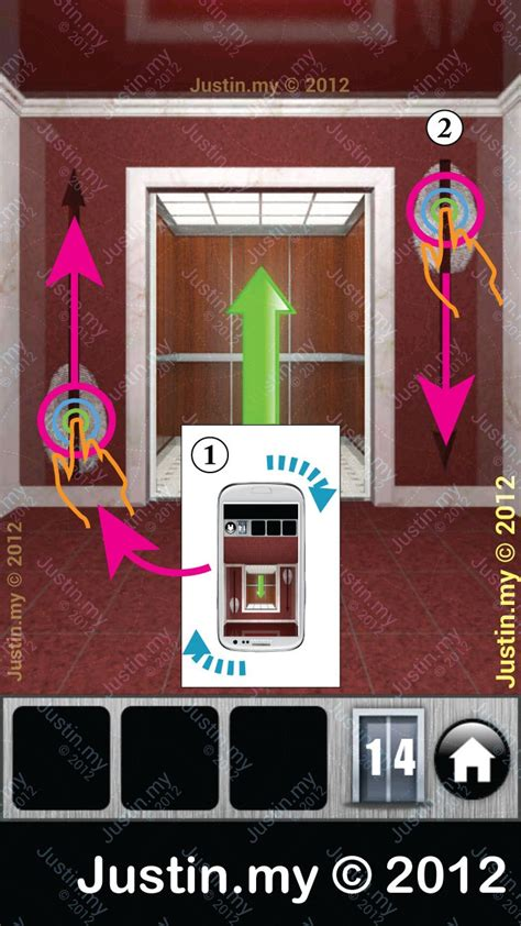 100 floors level 14 walkthrough 100 doors 2013 walkthrough level 14