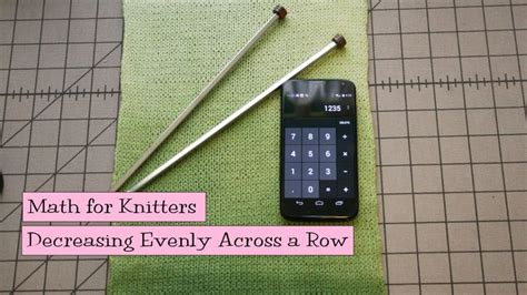increase evenly in knitting math for knitters increasing evenly across a row those