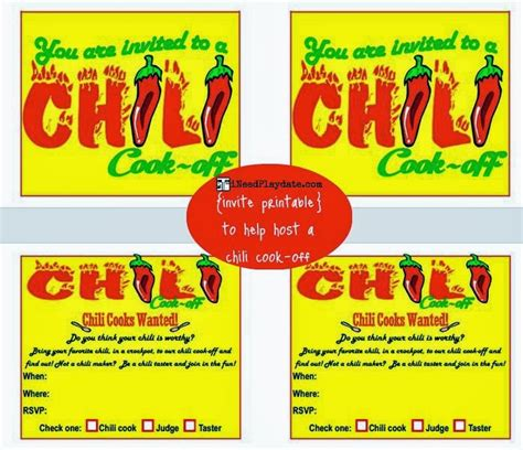 chili cook award certificate template hosting a chili cook like an expert blogher