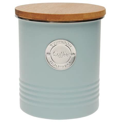 Copper Kitchen Canisters by Heatons Typhoon Living Coffee Canister Tea Sugar