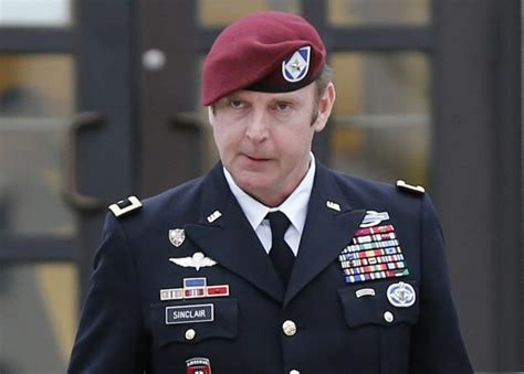 General Officer by Army Captain Cries During General S Misconduct Trial