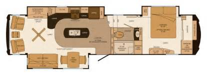 1st interior floor plan of new luxury lifestyle rv